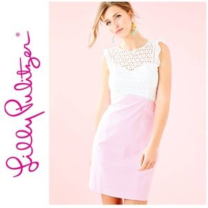 Lilly Pulitzer Maya Shift Dress Pink Tropics NWT
